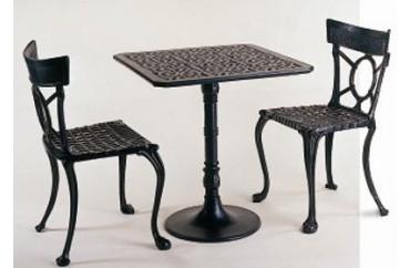 Dış Mekan Klasik Döküm Masa Sandalye Seti